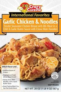 Garlic Chicken & Noodles / 20 oz / Grocery Store