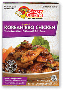 Korean BBQ Chicken / 20 oz / Grocery Store