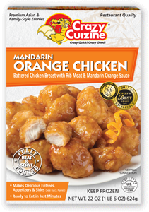 Mandarin Orange Chicken / 22 oz / Grocery Store